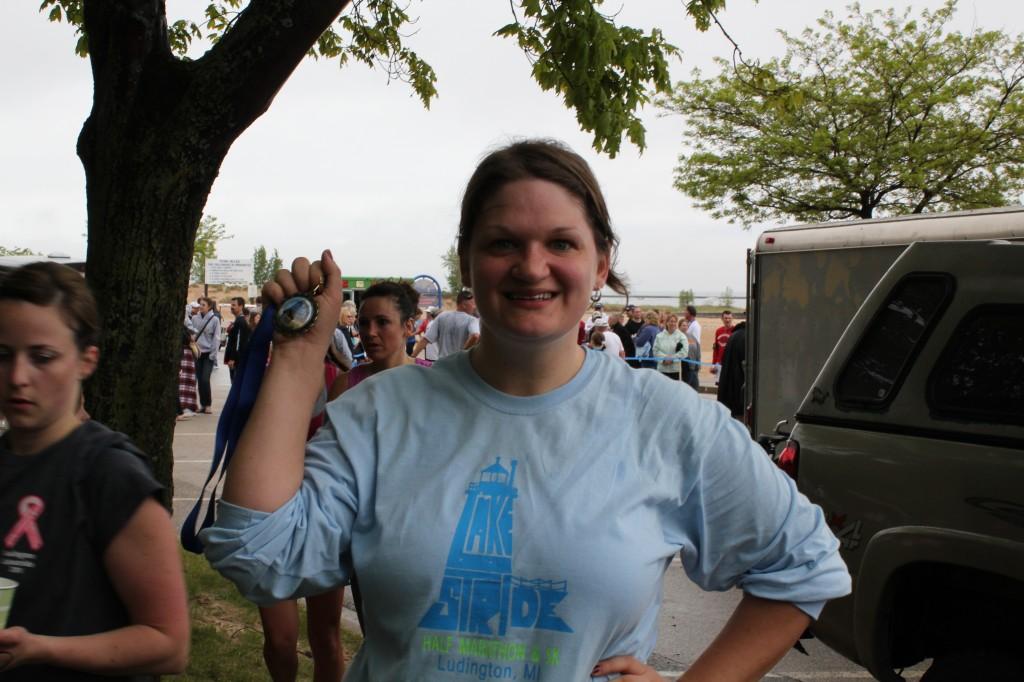 Rachel victorious!