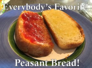 Everybody's Favorite Peasant Bread