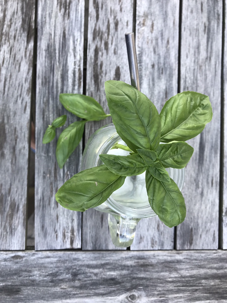 Basil makes everything so pretty!