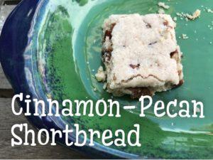 Cinnamon-Pecan Shortbread